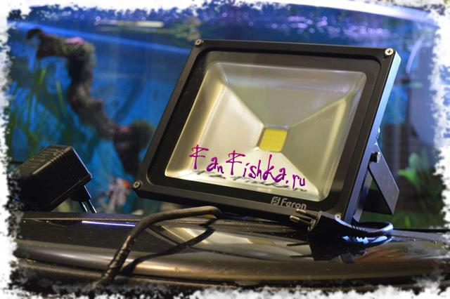 Светодиодные лампы в аквариуме своими руками
