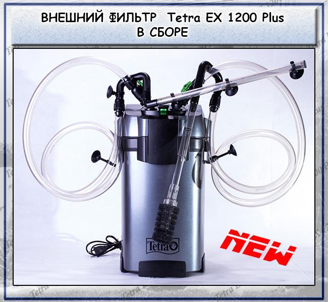 Обзор нового внешнего фильтра tetra ex 1200 plus