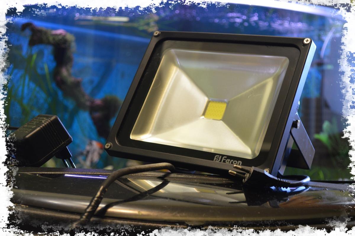 Прожектор светодиодный для аквариума своими руками