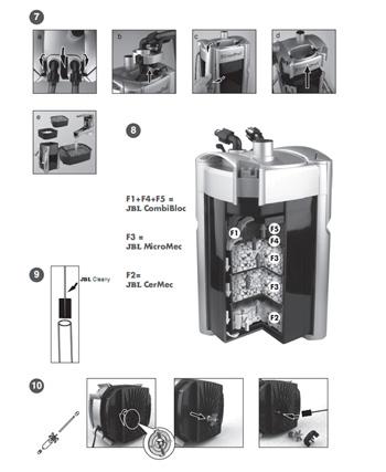 фильтр jbl 1501 инструкция