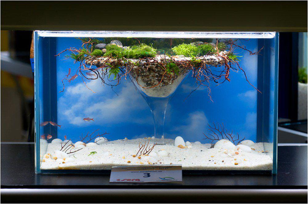 как украсить аквариум своими руками фото мастер-класс вязанию палатина