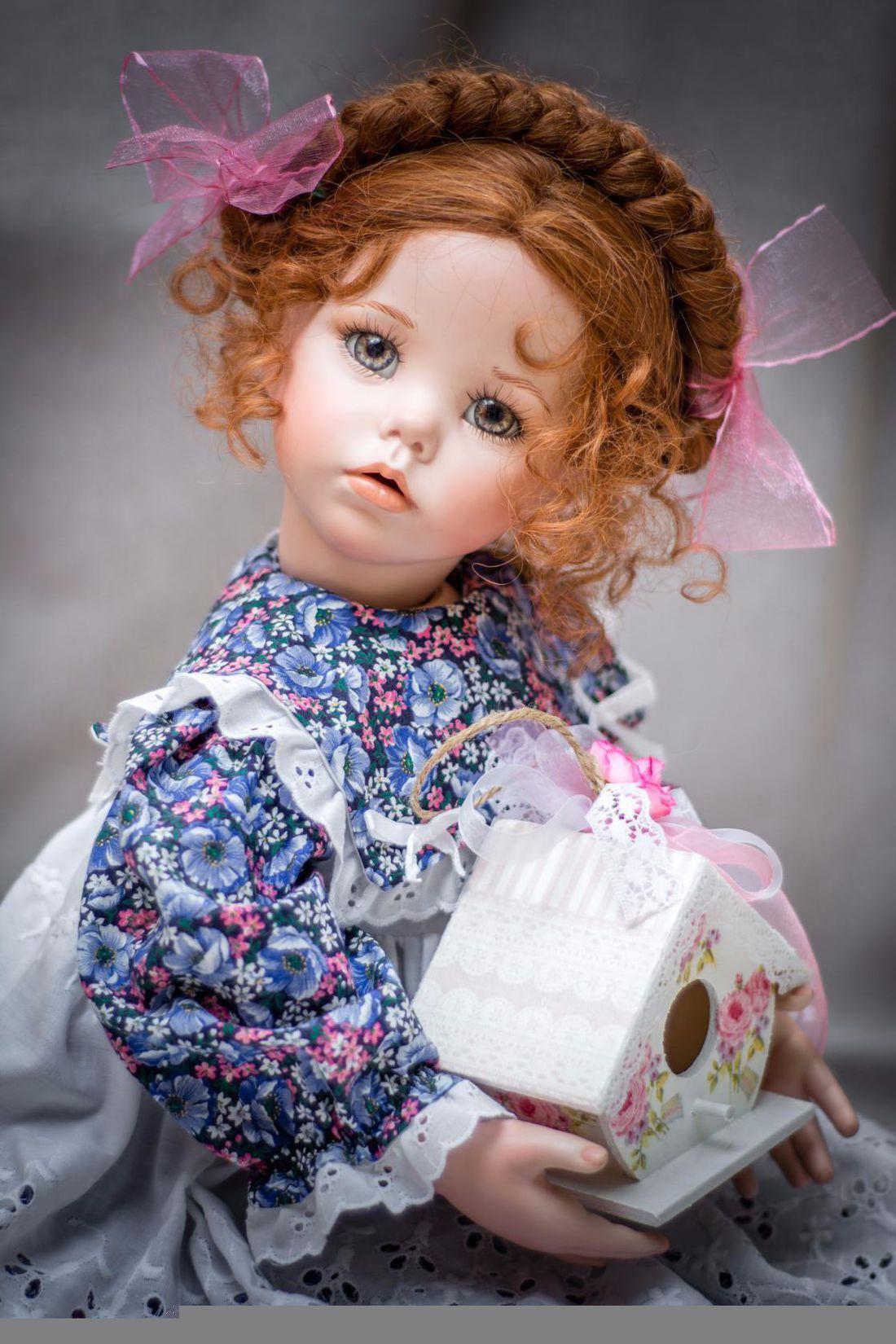 Картинки авторских кукол