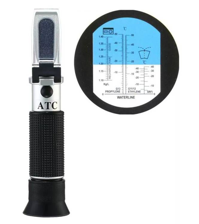 солонометр для морского аквариума рефрактометр