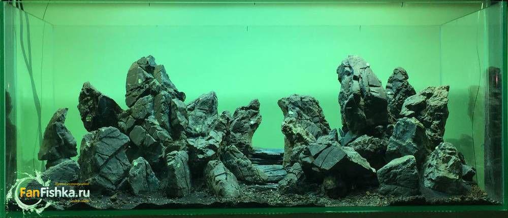 камни аквариум