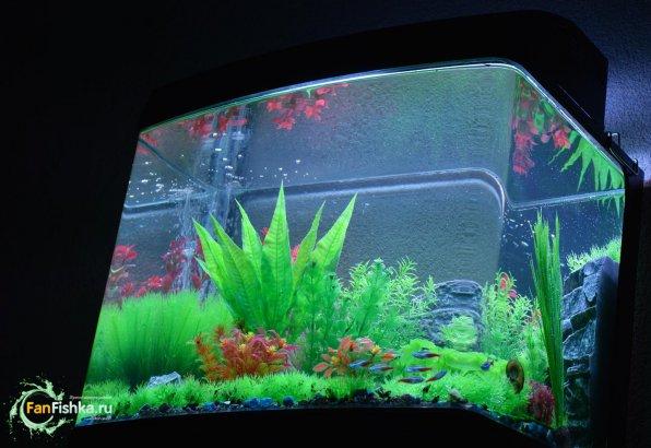 Пластиковые декорации для аквариума