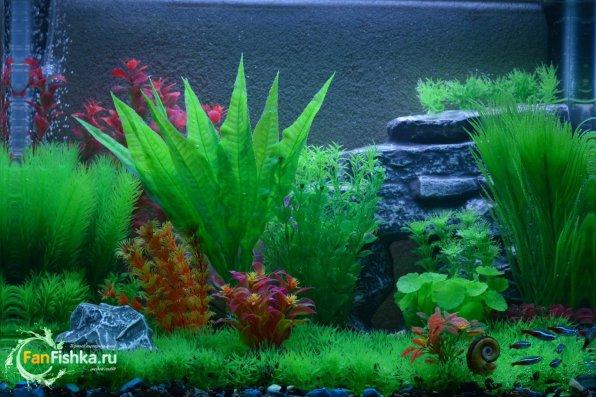 Искусственные растения для аквариума Лагуна
