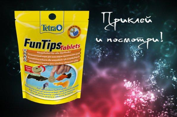 Tetra FunTips Tablets