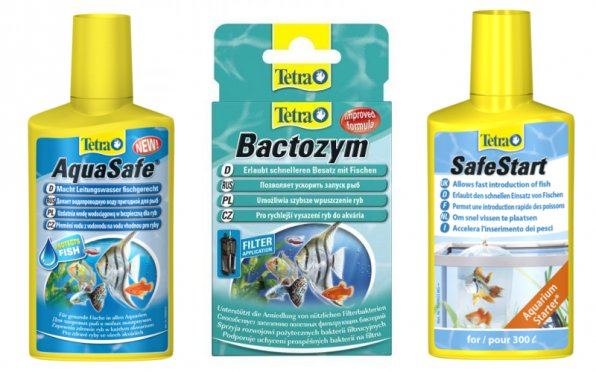 Стартовые препараты Тетра для запуска аквариума