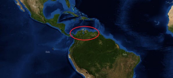 Ареал обитания гуппи Эндлера