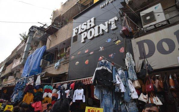 Аквариумный магазин в Индии Дели