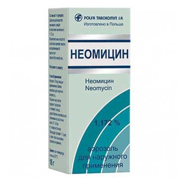 Неомицин для лечения аквариумных рыб