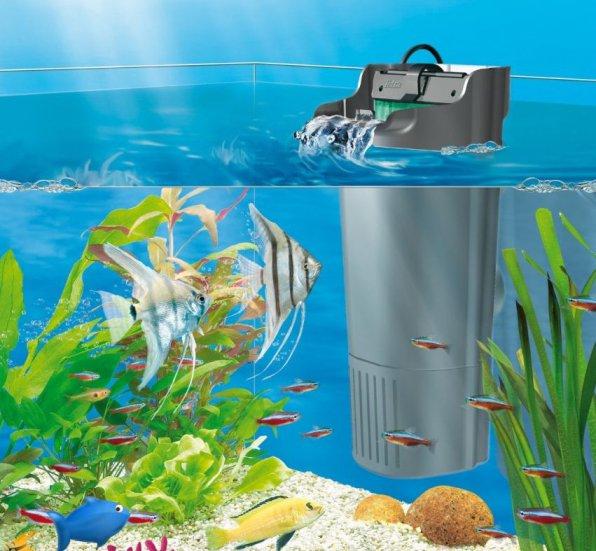 Внутренний фильтр для аквариума рюкзачок фото