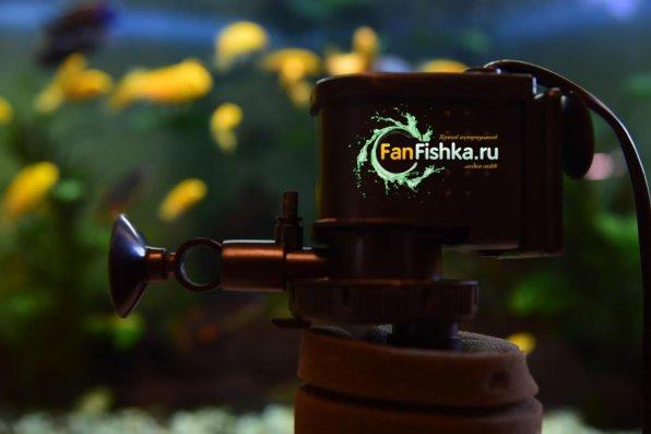Уменьшение течения аквариумного фильтра