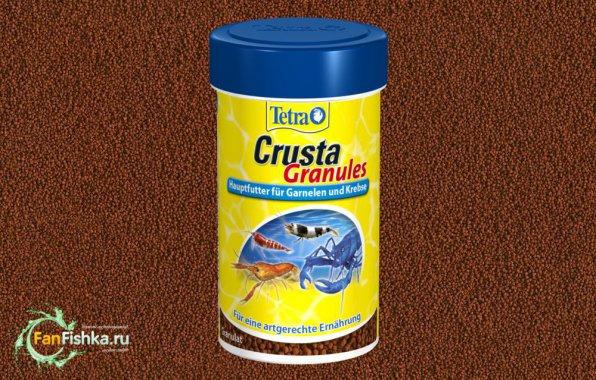 TetraCrusta специализированный корм для креветок