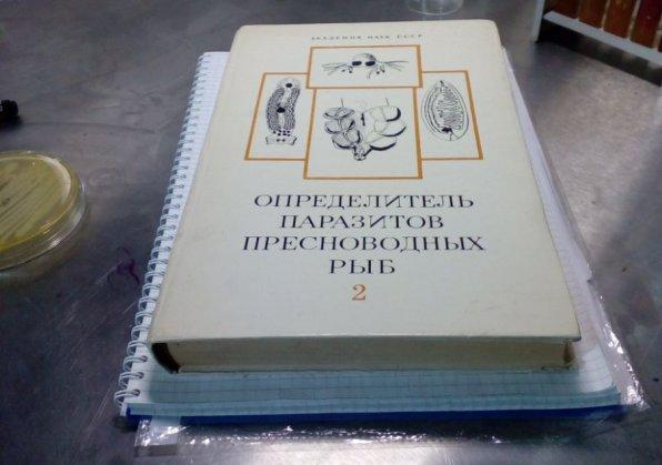 Определитель паразитов книга
