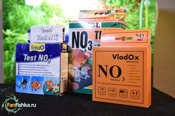 Капельный тест NO3 VladOx для аквариума