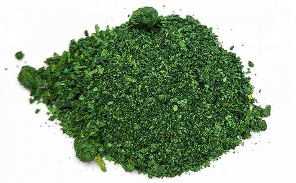 Малахитовый зеленый в кристаллах