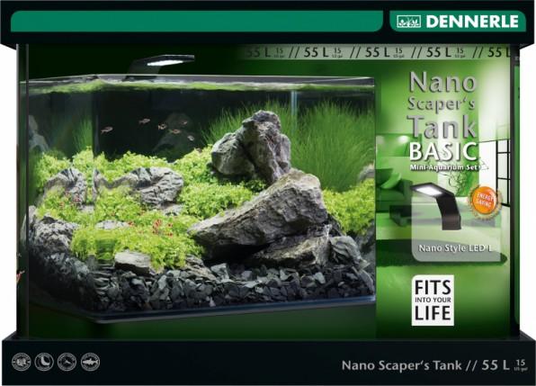 Dennerle Scaper's Tank - акваскейперские танчики