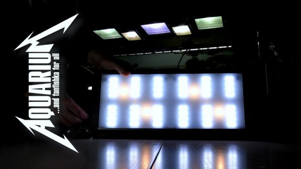Титанический свет в аквариуме