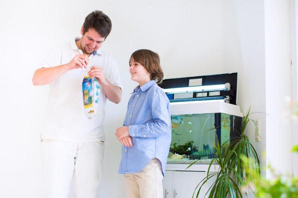 Детский аквариум: советы родителям!